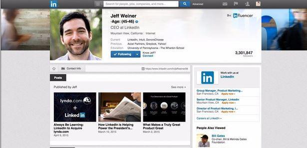 LinkedIn CEO